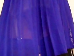 Retro Garter Belt Ebony Stockings