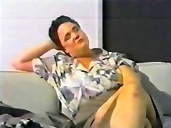 using beat as a fake penis - svensk retro 90's