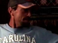 Mature southern bear tugs his hard cock