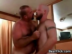 Rough and tough gay bears hardcore anal part3