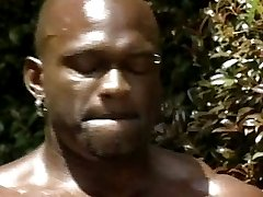 Black Muscle gay porn