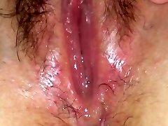 Moist vulva juice solo
