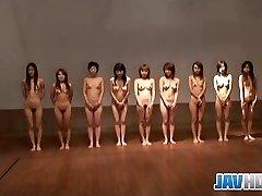 Bare Japanese femmes
