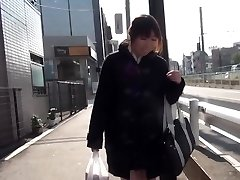 Japanese teenager squirting