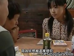 Asian Babe in Gangbang lovemaking