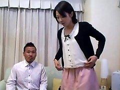 Томоми Симадзаки jeben pred mužem (bez cenzure)