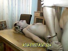 Lengthy Legged Thai Honey Imprissoned In Rusting Motel