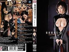 Amazing Japanese chick Aimi Yoshikawa in Best gang-bang, latex JAV clip