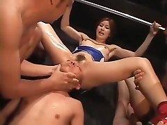 gek zelfgemaakte bdsm, fetish porno scene