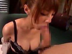 Horny Chinese damsel Tsubasa Amami in Amazing Handjobs, Blowjob JAV movie