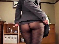 Shou nishino soap superb chick pantyhose ass cane ru nume
