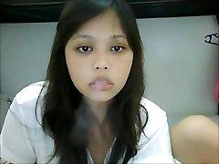 Smēķēšana Āzijas Webcam I