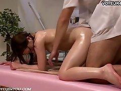 Japanese Girl Gets Body Massage Fuck-fest