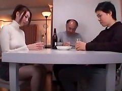 Exotic Chinese girl Yui Tatsumi in Crazy Foot Job/Ashifechi, Oldie JAV movie