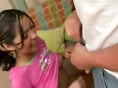 Baby Sitter fucks dad while mummy is at work