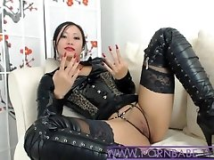 Japanese PornbabeTyra Gives You Nasty Domination