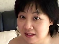44yr old Chubby Busty Japanese Mom Craves Jizz (Uncensored)