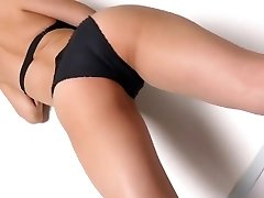 Miyu dancing - shiny bodysuit non-naked