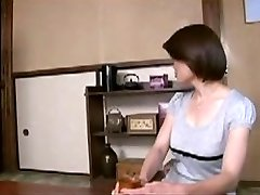 Japanese Mom Comforts Youthful Boy...F70