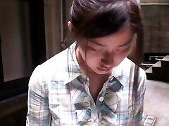 Cute asian woman gets filmed by voyeurs