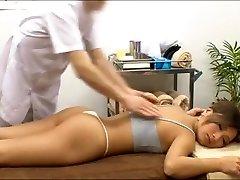 Spycam asian massage