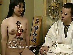 Fun With Tattooed Asian Super-bitch
