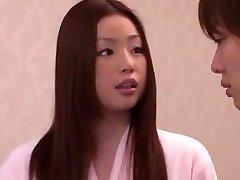 Horny Japanese girl Risa Kasumi in Impressive Rimming JAV movie