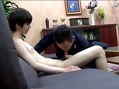The police and the Asian boy