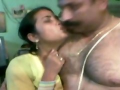 southindian not ncle tearing up and with his young wifey