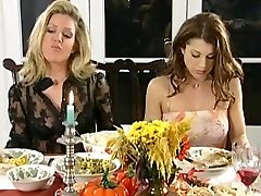 All Girl dinner and slapping party