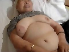 80yr old Japanese Granny Still Loves to Penetrate (Uncensored)