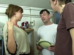 Reife Swinger - Super-hot MMF three way with lusty mature German