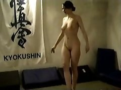 Naked Brunette Catfight