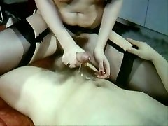 Sexy Vintage video of steamy sex stockings and fur