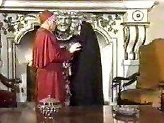 Retro Deep Throat Internal Cumshot with Nun