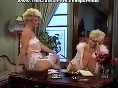 Man Sausage worshipped by retro busty girl