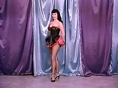 Vintage Stripper Film - B Page Teaserama video two