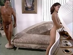 Fashionable brown-haired fucks her piano teacher