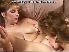 Classic porno with crazy sex at soiree
