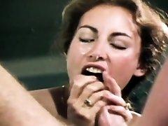 Loni Sanders Best Vintage Oral Job-Deepthroat