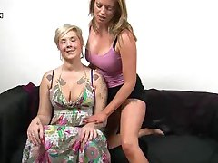 British Lesbians Holly and Mandy Pussy Fisting