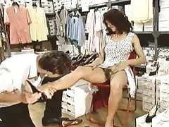 Retro - Trying on shoes