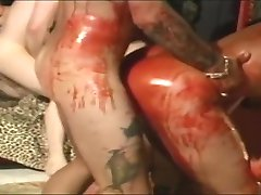 Exotic pornstars Bridget Powers and Jennifer Leigh in crazy cunnilingus, redhead sex scene