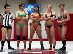 Three Hot MILFS Fight It Out