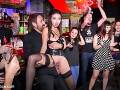 Underground Goth Club Turns Into A Wild Bang Party - PublicDisgrace