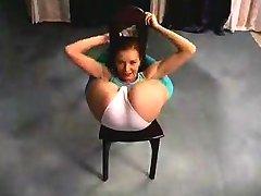 flexível sexy chick