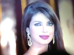 Beautiful face of Priyanka Chopra cummed!!!