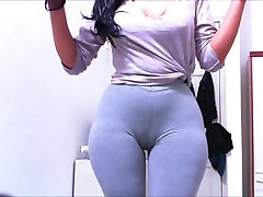 Cameltoe Leggings Ash Claudiahotpants