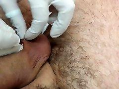 Piercing en el escroto