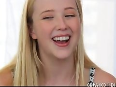 The Sweetest Blonde Teen Tart Interview Fuck